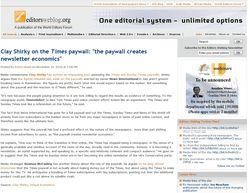 Editorsweblog Nov 2010