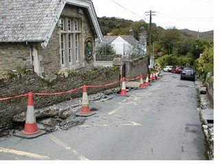 Creative Commons picture of Boscastle after the floods