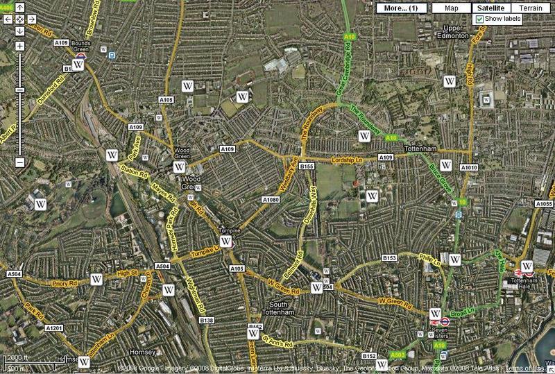 Googlemapwiki